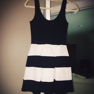 Baby Doll, Black & White Cocktail Dress!